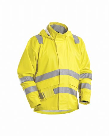 Blaklader 4303 FR Rain Jacket (Yellow)